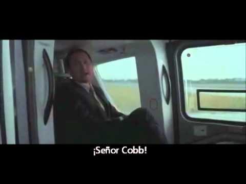 Inception scene - Saito request to Cobbs an Inception. [SPA subtitles]