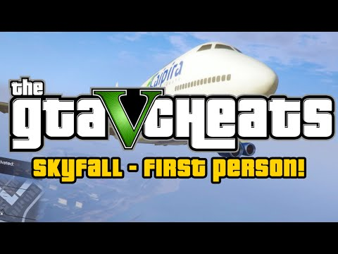 Gta 5 Cheats Ps4: Skyfall In First Person! (grand Theft Auto: 5 Gameplay) video