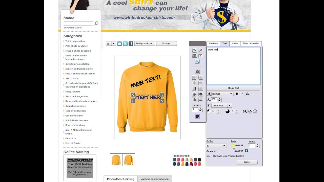 Bedrucken Lassen t Shirts T-shirt Bedrucken Lassen
