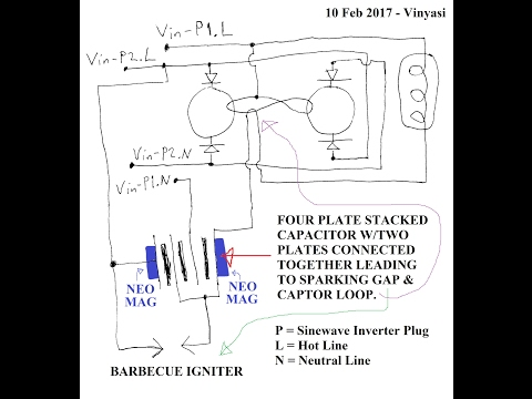 Replacing Grounding Rods and Neon Bulb with a Four Plate Capacitor thumbnail