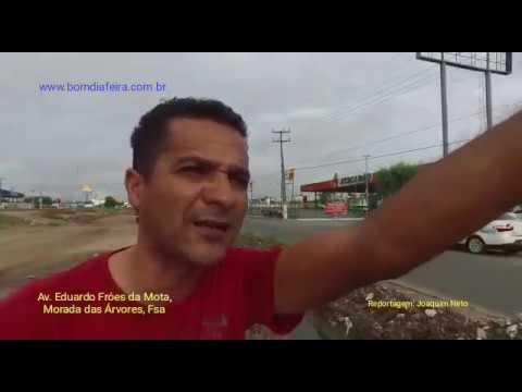 Vala causa acidentes na Av. Eduardo Fróes da Mota