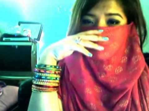 Asian Girl Singing Hindi Song Shukran Allah