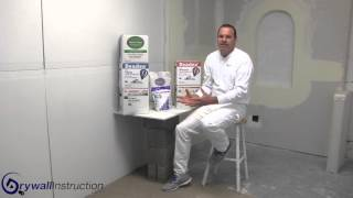 Drywall joint Compounds - Drywall Instruction