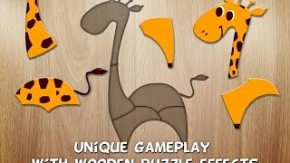 """384 Puzzles for Preschool Kids """"Puzzle Education Games"""" Android Video"""