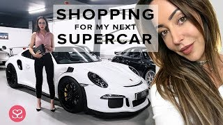 COME LUXURY CAR SHOPPING WITH ME + BEAUTY HAUL GOODIES! | [AD - Gifted]