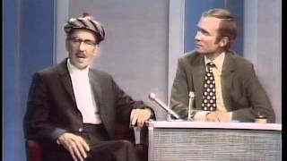 Groucho Marx on the Dick Cavett Show