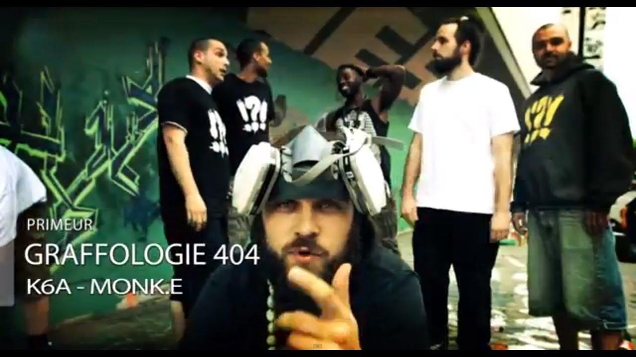 Ghetto Blaster MONK-E et K6A - Graffologie 404