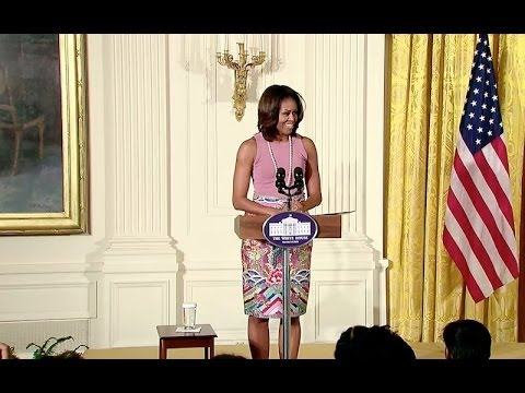 First Lady Michelle Obama Marks Diwali At The White House video