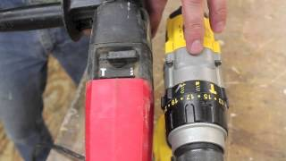 Tools & Tips for Tuesday, what is a Hammer Drill and how to use one.
