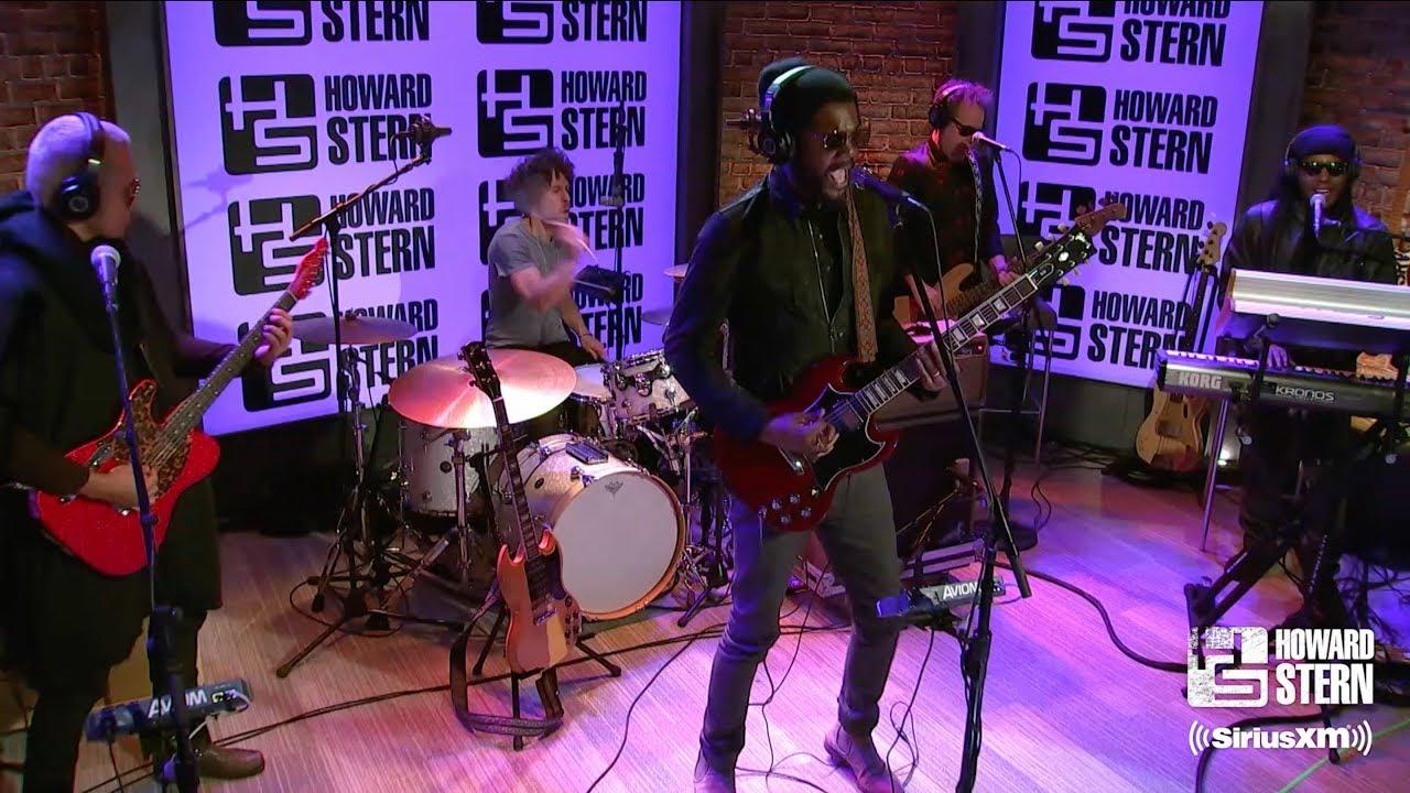 "Gary Clark Jr. - 「The Howard Stern Show」にてThe Beatlesカバー""Come Together""など3曲を披露 スタジオセッション映像を公開 thm Music info Clip"