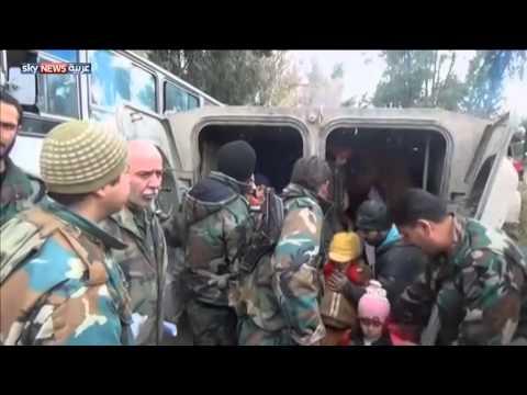 سوريا: خروج ألف مدني من الغوطة الشرقية