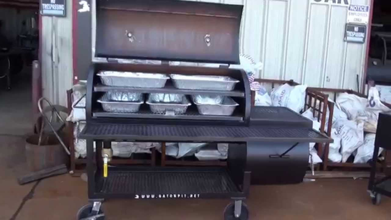 king of the grill gator pit of texas ritch robin youtube