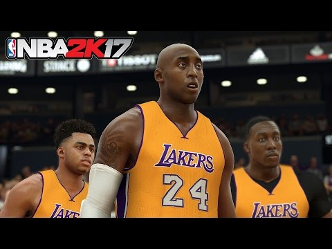 Here's how to get #24 Kobe Bryant in NBA 2K17!
