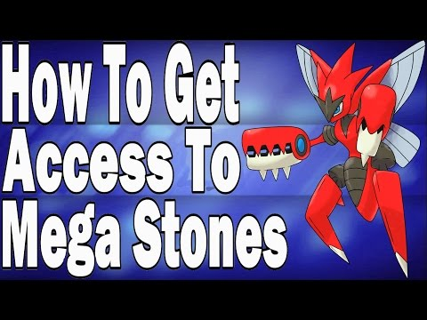 How to get Access To All Mega Stones In Pokemon X and Y