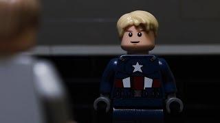 Lego Captain America The Winter Soldier Trailer #1