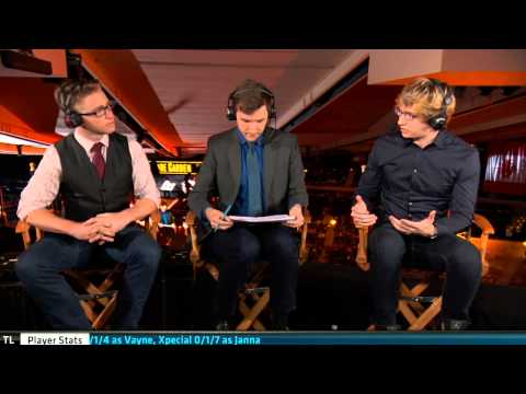 Liquid vs Impulse Game 1 post-match analyst desk w/ Meteos | 3rd Place S5 NA LCS Summer 2015