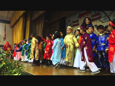 Tet Festival at St Columban School 2014