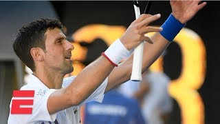 Novak Djokovic marches past Denis Shapovalov to advance to 4th round | 2019 Australian Open