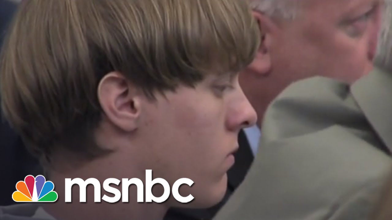 Dylann Roof Appears In Court, Not Allowed To Enter Guilty Plea   msnbc