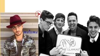 Me llamas remix piso 21 ft Maluma lyrics letra