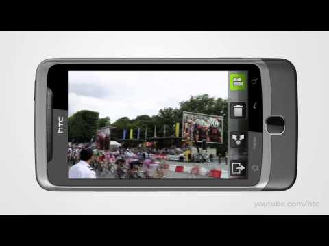 Vid&eacute;o du HTC Desire Z Gris