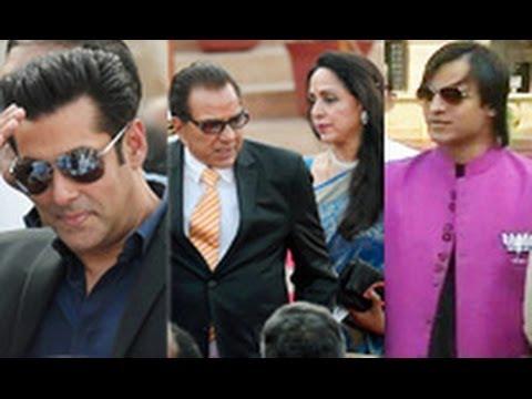 Bollywood Stars Attend Narendra Modi's Swearing-in Ceremony | Hot Bollywood News | Salman, Vivek