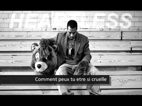 Kanye West - Heartless ( Français Traduction ) video