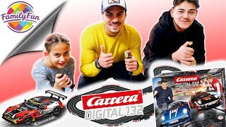 CARRERA DIGITAL 132 - 17 Meter Rennbahn im Wohnzimmer - Slot Car Racing | Family Fun