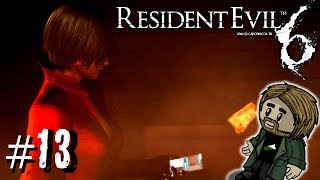 Resident Evil 6 w/ TheTeshTube   13   WHAT'S GOING ON?! End of Leon/Helena Campaign