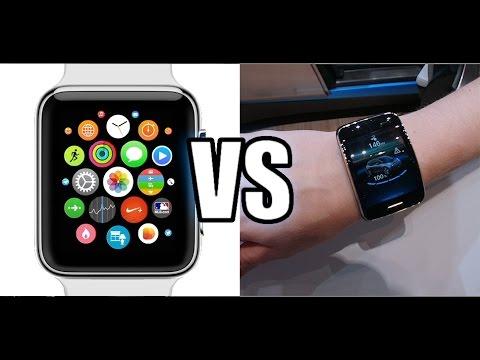 Gear Watch vs Apple Watch Apple Watch vs Galaxy Gear