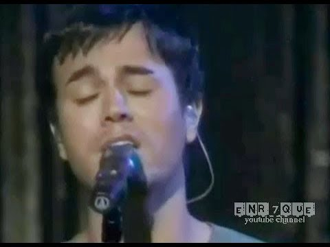 Enrique Iglesias - Somebodys me (live)