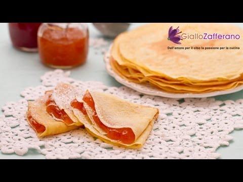 Crepes - easy recipe