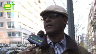 Ethiopia: #OromoProtests Solidarity Rally DC - Interview with OLF Executive Member Abba Chala Lata
