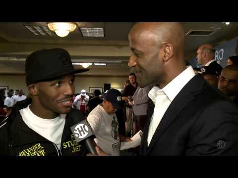 WeighIn Replay Guerrero vs Kamegai  SHOWTIME Boxing