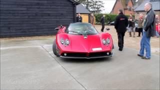 Pagani Zonda F modified with Cinque parts - Start-up, Static and Loud Acceleration sound