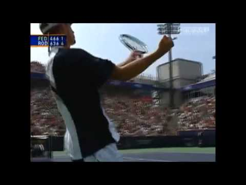 ANDY RODDICK: Amazing Points!