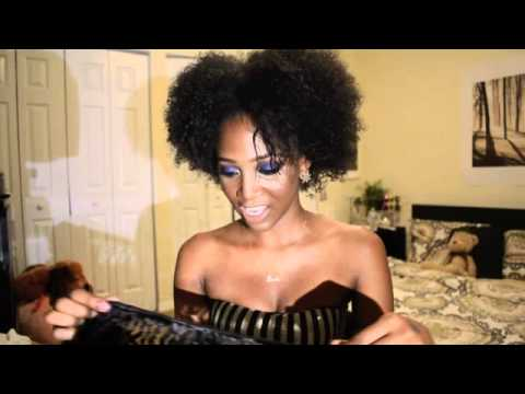 Natural Afro Weave Kinky Curly Weave For Natural