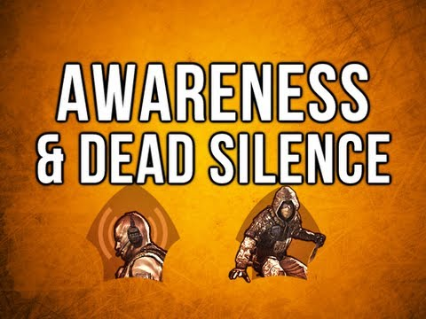 Black Ops 2 In Depth - Awareness & Dead Silence Perks