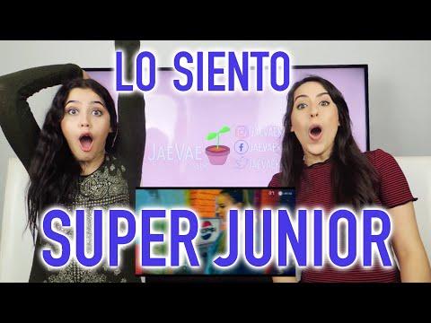 SUPER JUNIOR 'LO SIENTO' MV REACTION (Español)