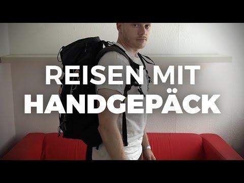 Mit Handgepäck Reisen - Tipps & Tools