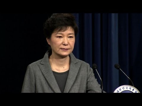 Tearful S. Korea president says 'responsibility lies with me'