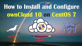How to Install and Configure Owncloud on Centos 7 | ownCloud 10 | MariaDB 10 | PHP 7