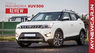 Mahindra XUV300 W8 review | All you need to know | Mynewcar.in