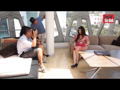 Tt&gĐ Số 10 2013 - Hậu Trường Chụp ảnh Bìa Với Ca Sỹ Trương Quỳnh Anh video