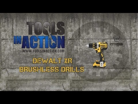 DeWALT DCD795 and DCD790 Compact 20V MAX XR Brushless Drills