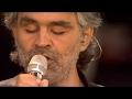 Andrea Bocelli - Can't Help Falling in Love (Live Audience Removed)