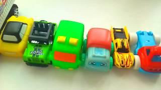 Детские игрушки. Машинки 1