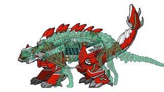Dino Robot Ankylosaurus  + Dinosaur Train Ankylosaurus - Full Game Play