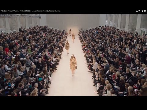 0 Burberry Prosum Fashion Show Autumn Winter 2013 Pret a Porter Women London Fashion Week