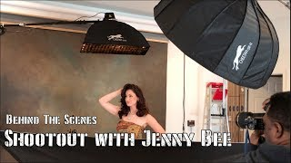 Behind the scenes of Jenny Bee and Josh Mills Shootout